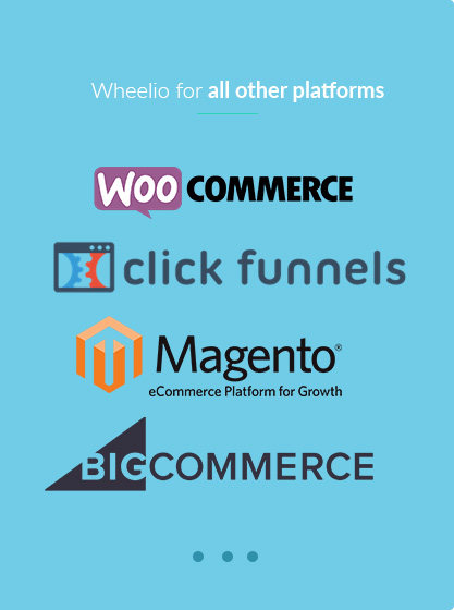 Click here if you want Wheelio for all other platforms